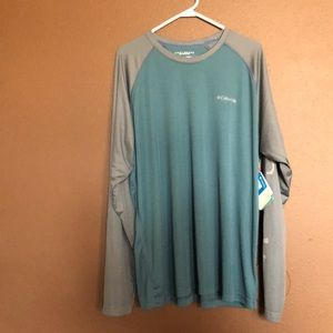 NWT Columbia Omni Shade Sun Protection Long Sleeve